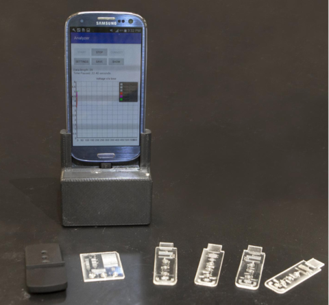 Portable lab uses smartphone to detect viruses