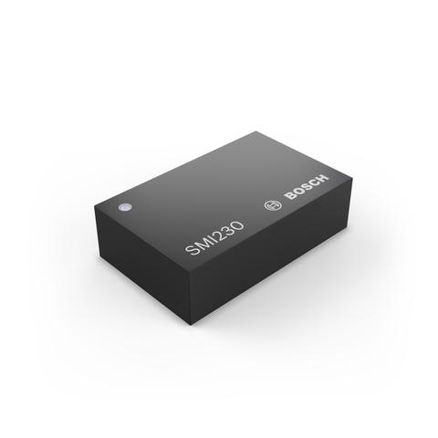 Bosch's SMI230 six-axis inertial MEMS sensor