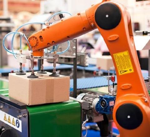 Technavio report, the global logistics robots market