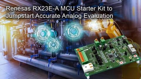 Renesas unveils evaluation boards for IoT sensor development