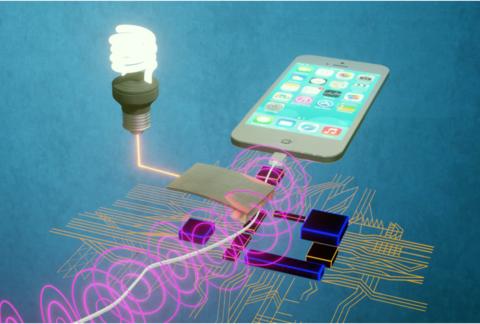 Smart sensor networks run on magnetic power