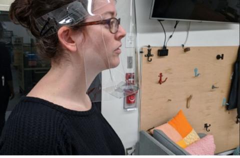 MIT develops mass producible face shield
