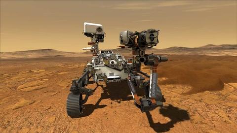 Mars Rover 2020 Illustration