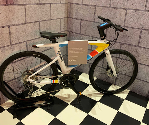 Cybic AI bike Vogtec