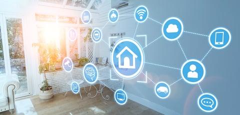 Smart house concept - home automation