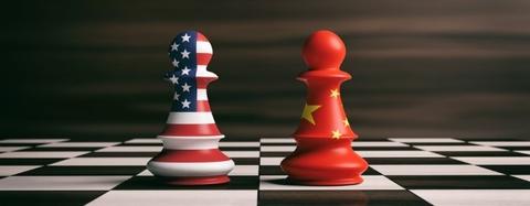 pawns depict us china trade war