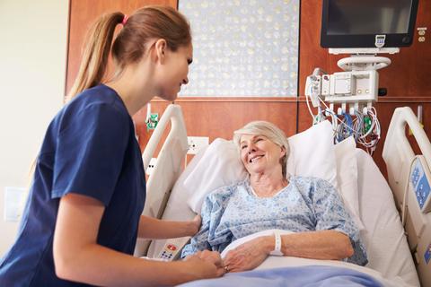 Nurse-Patient-Hospital-Credit: Getty/monkeybusinessimages
