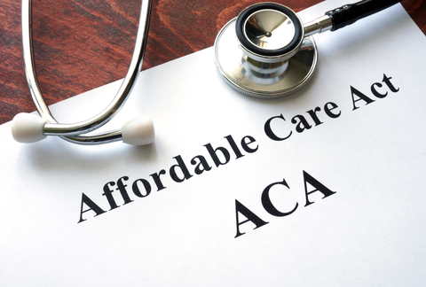Document titled, Affordable Care Act