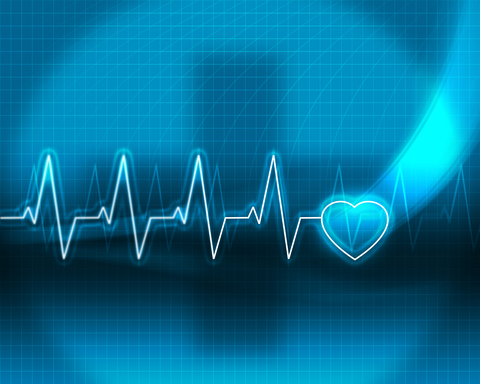 An illustration of a heart monitor