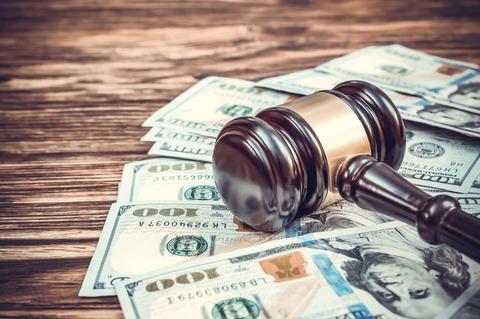 Court judgement money