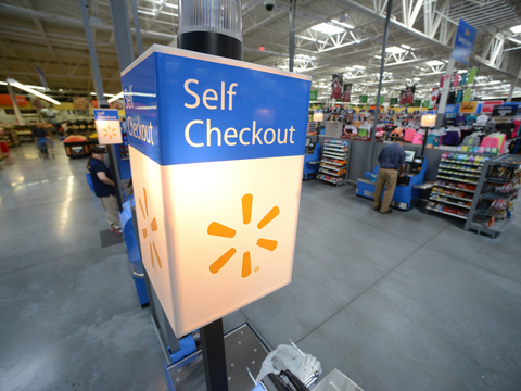 Walmart self-checkout