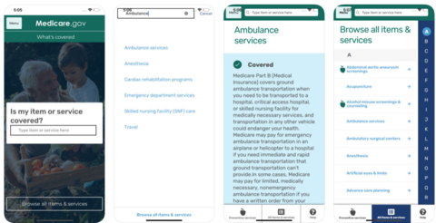 CMS launches app to outline services covered under Medicare