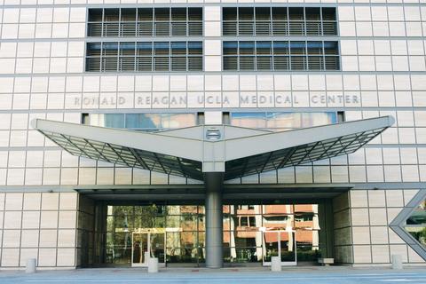 entrance of UCLA Medical Center