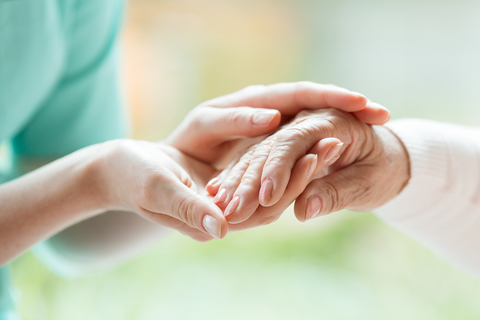 Caregiver end of life care nursing home palliative care