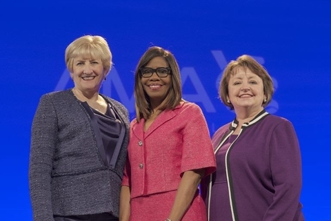 AMA's three women presidents