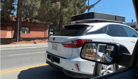 Apple autonomous vehicle