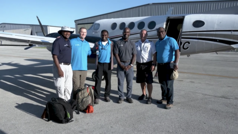 Group ready to depart for Bahamas