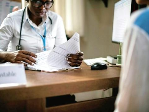doctor paperwork
