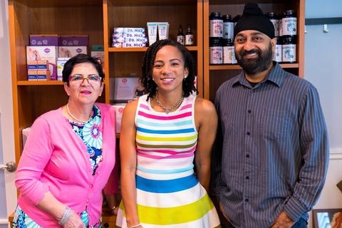 Photo of three company co-founders