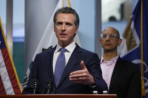 California Gov. Gavin Newsom coronavirus update