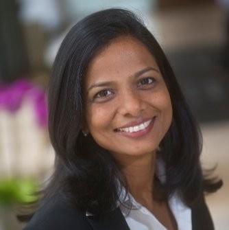 A headshot of Aparna Abburi