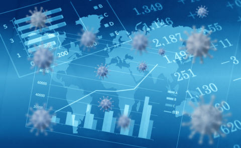A financial chart