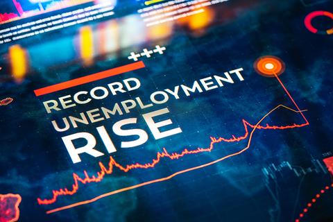 Record unemployment rise