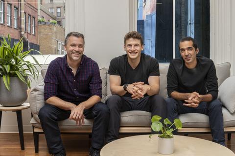 three male co-founders of telehealth company Ro