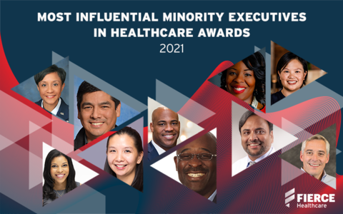 The winners of Fierce Healthcare's Most Influential Minority Executives in Healthcare Awards
