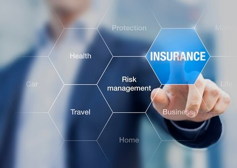 A graphic highlighting the word insurance.