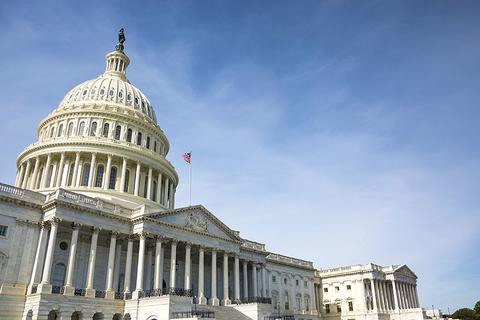 Capitol building in Washington