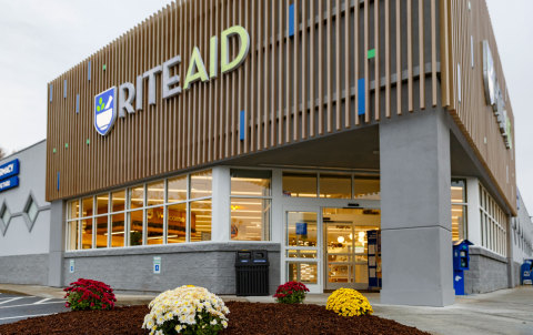 The outside of Rite Aid's new concept stores