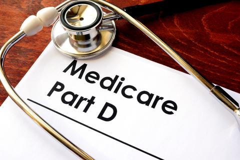 A document that reads 'Medicare Part D'