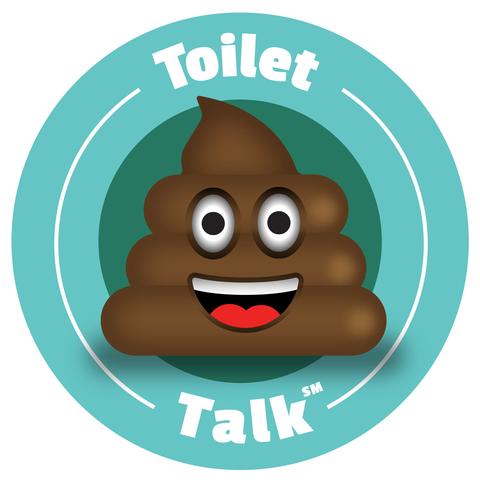 Toilet Talk Poop Emoji for Allergan
