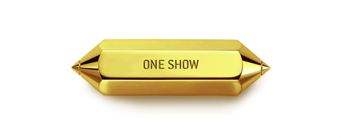 One Show Gold Pencil award