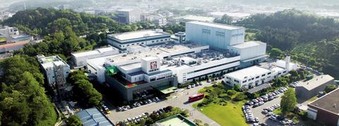 Daewoong Hyangnam plant in South Korea