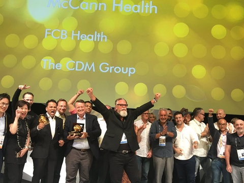 McCann Health Cannes Lions Health Winner (Image: McCann Health)