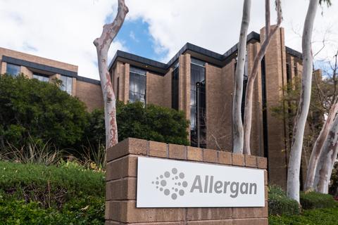 allergan irvine
