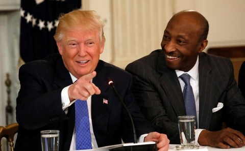 American Manufacturing Council, Trump, Merck, Frazier