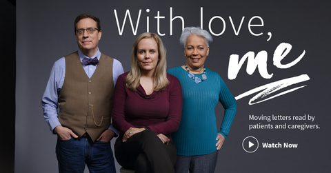 "Merck ""With Love, Me"" campaign home page"