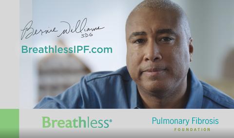 Bernie Williams in Boehringer Ingelheim IPF awareness campaign