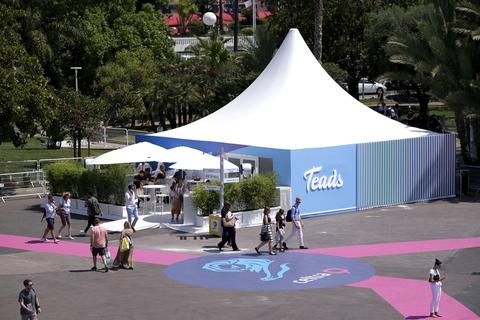 Teads pavilion at Cannes Lions Health 2019