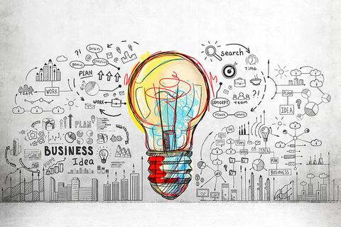 colorful lightbulb - idea - creative