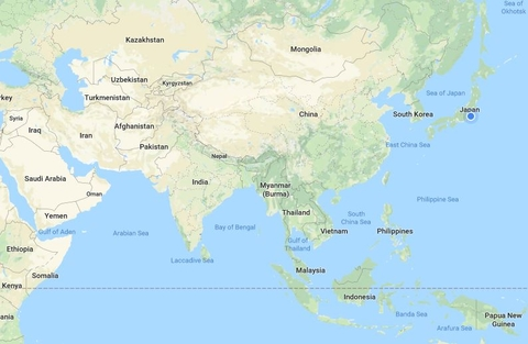 Google Map Of Asia.Fiercepharmaasia Sanofi S Japan Cuts Big Pharma Ceos