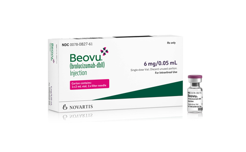 Beovu drug box