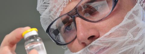 Sanofi biologics vials