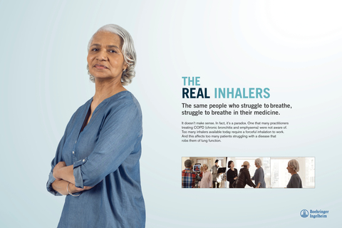 FCB Health Real Inhalers campaign for BI