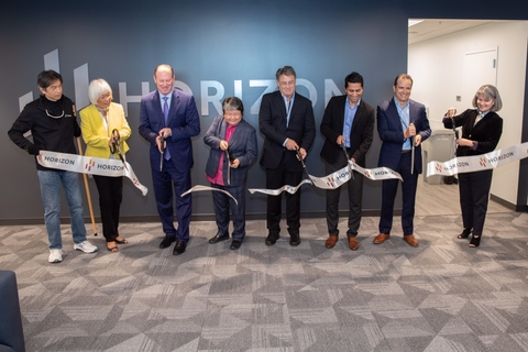 Horizon ribbon cutting