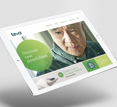 Teva new website visual