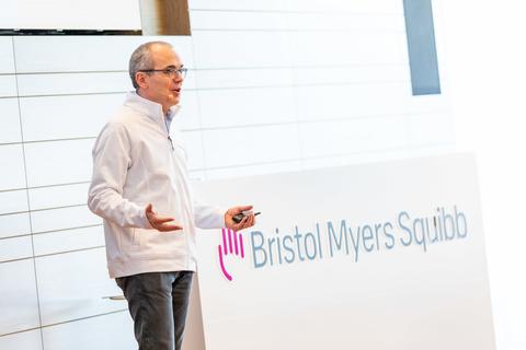 Bristol Myers Squibb CEO Giovanni Caforio debuts new brand